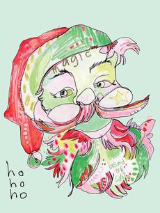 Mint Santa