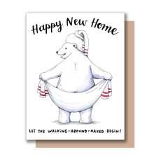 New Home Polar Bear