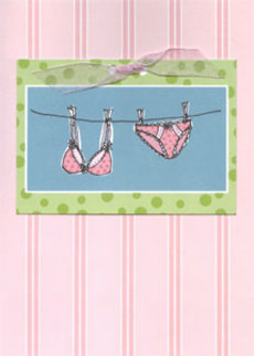 Undies Pink Stripes