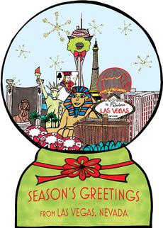 Las Vegas Snowglobe