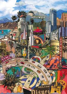 LA Cityscape Blank