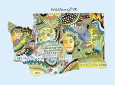 Doodle: Washington