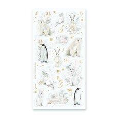 Winter Animals Stickers