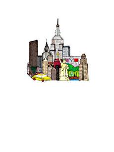 New York 4x6