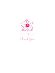 Pink Thank You