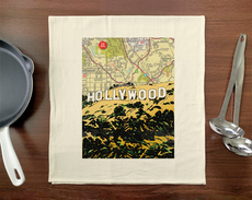 Hollywood Sign Towel