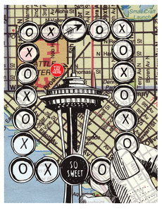 A Picture of Seattle, cards