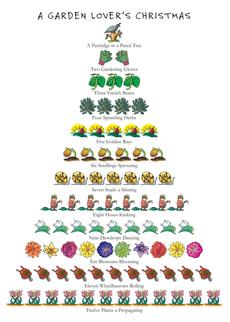 Garden Lover's Christmas 12-Days