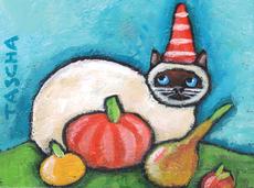 Pumpkin Kitty Mini