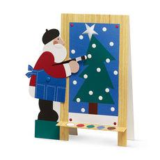 Santa's Masterpiece Pop-Up Card