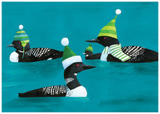 Loons in Hats