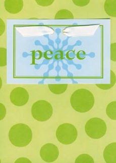 Peace Green Dots