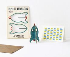 Rocket Pop Out Card