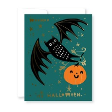 Bat & Pumpkin Halloween