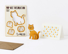 Cat Pop Out Card