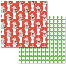 Llama Reversible Eco-Wrap