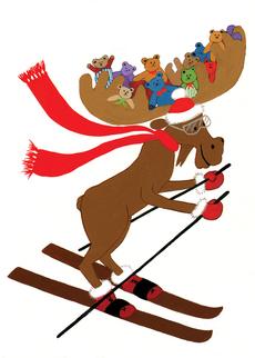 Moose Skier