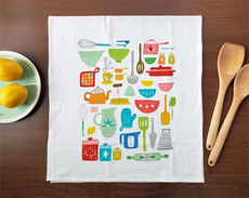 Kitchen Utensils Towel