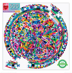 Triangle Pattern Family Puzzle - 500pc