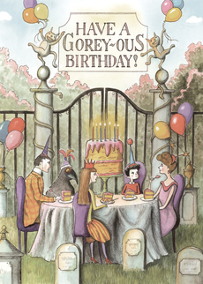 Gorey-ous Birthday