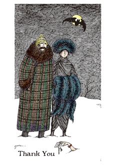 Edward Gorey: Thank You Notes