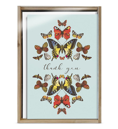 Tree Free Butterfly Thank You Notes