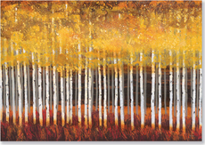 Golden Aspens Boxed Note Cards