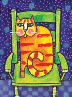 Orange Cat Mini