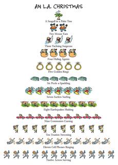 LA Christmas 12-Days