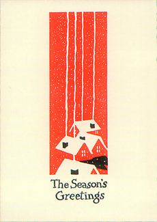 Chimneys Boxed Holiday Cards