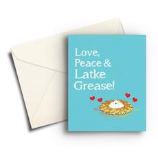Love, Peace, and Latke Grease
