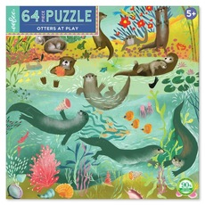 Otters at Play Children's Puzzle - 64pc