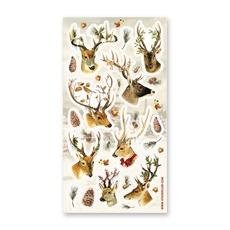 Festive Reindeer Stickers