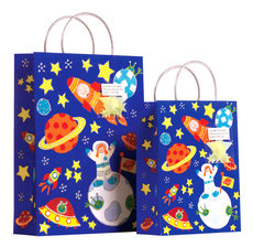 Outer Space Kids Bags