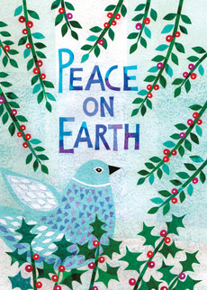 Peace Holly Bird