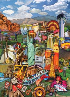 Las Vegas Cityscape Blank