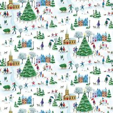 Christmas Village Wrap