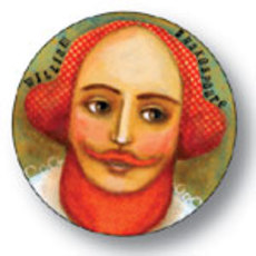 Shakespeare Button