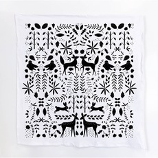 Forest Otomi Tea Towel