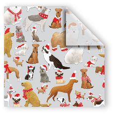 Santa's Doggy Helpers Tissue Paper