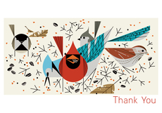 Harper Birds Thank You Card