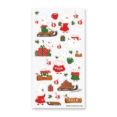 Holiday Bunnies Stickers