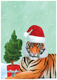 Festive Tiger