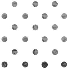 Silver Dot Tissue Paper