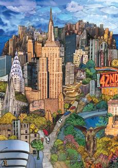 NY Cityscape Blank