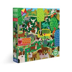 Dogs In the Park Puzzle - 1000pc
