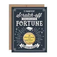 Graduate Fortune Scratch Off Card