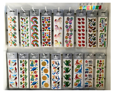 Rainbow '80s Foil Sticker Collection