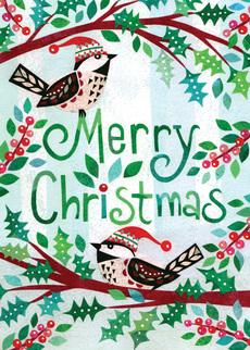 Chickadees Merry