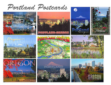 Portland Postcard Pack